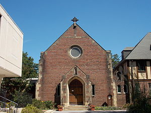 Saint Anselm's Abbey (Washington, D.C.) - St. Anselm's Abbey Church