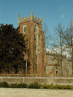 Chilton, Suffolk - Image: St. Mary's church, Chilton, Suffolk geograph.org.uk 146362