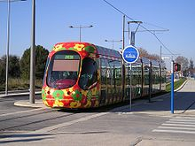 ligne 2 du tramway de montpellier wikip dia. Black Bedroom Furniture Sets. Home Design Ideas