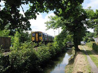 Atlantic Coast Line, Cornwall Railway line in Cornwall, UK