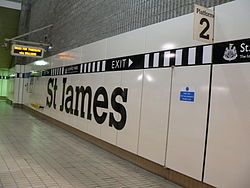 St James Metro station