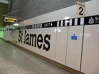 St James Metro station - St James Metro station