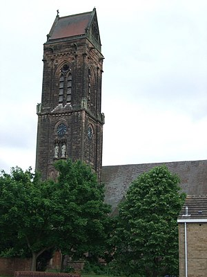 Abbey (Derby ward) - Image: St Luke's church, Derby geograph.org.uk 3215931
