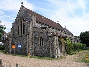 Burgh Heath - Image: St Mary's Church geograph.org.uk 20953
