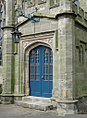St Matthew's Church south porch, Darley Abbey, Derbyshire, England.jpg