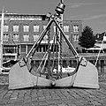 Stade, Stadthafen, Alter Kran -- 2018 -- 2872 (bw).jpg