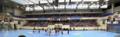 Stade Pierre de Coubertin intérieur face à la table de marque.png