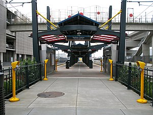 Stadium station (Sound Transit) - Image: Stadium Station ORCA readers