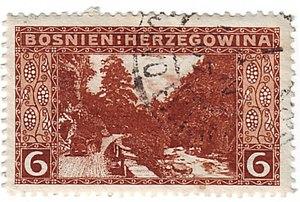Prozor-Rama - Image: Stamp Austria Bosnien 33