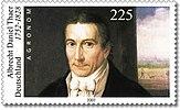Stamp Germany 2002 MiNr2255 Albrecht Daniel Thaer.jpg