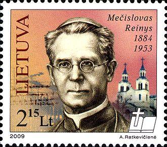 Mečislovas Reinys - Stamp of Lithuania, 2009
