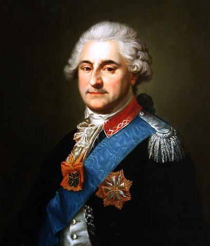 Le dernier Roi de Pologne Stanislas August Poniatowski