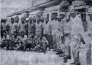 Free Republic of the Congo - Central government soldiers from the raid on Bukavu detained in Stanleyville