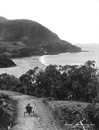 Stanwell Park, New South Wales - Stanwell Park beach, circa 1900