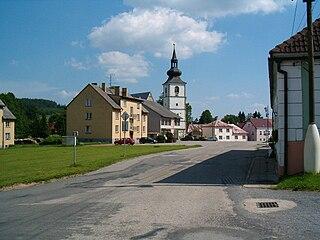 Staré Město pod Landštejnem Market town in South Bohemian, Czech Republic