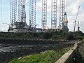 Start of reclaimed land, Dundee Docks - geograph.org.uk - 1480943.jpg