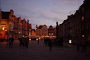 Stary Rynek w Poznaniu evening