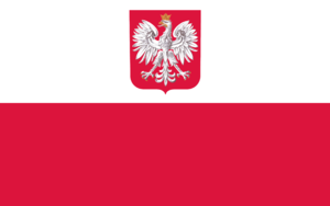 Polish Merchant Navy - Flag of Polish Merchant Navy