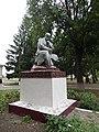 Statue of Taras Shevchenko in Shevchenkove, Shevchenkove Raion 2019 by Venzz 04.jpg