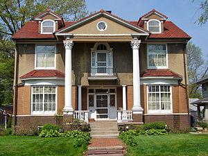 Stauduhar House - Image: Stauduhar House RI IL