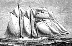 Thomas Brassey, 1st Earl Brassey - Image: Steam Yacht Sunbeam