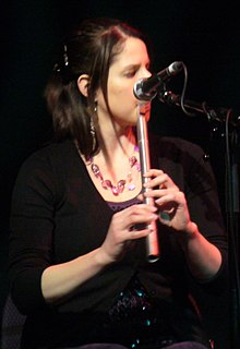Steph Geremia Irish-American flute player and singer