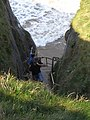 Steps to Bedruthan beach - geograph.org.uk - 992684.jpg