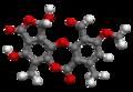 Stictic acid - 3D - Ball-and-stick Model.png