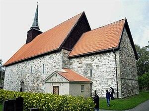 Stiklestad Church - Image: Stiklestad(01)