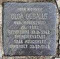 Stolperstein Bielefelder Str 21 (Wilmd) Olga Geballe.jpg