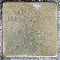 Stolperstein Damaschkestr 28 (Charl) Mia Mendelsohn.jpg