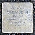 Stolperstein Friedrichstr 76 (Mitte) Davicso Asriel.jpg