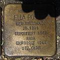 Stolperstein Gelsenkirchen Arminstraße 3 Ella Posner.JPG