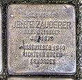 Stolperstein Remscheid Brüderstraße 3 Jente Zauderer.jpg