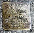 Stolperstein Schillerpromenade 7a (Obers) Manfred Stargardter.jpg