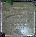 Stolperstein Stierstr 18 (Friedn) Bertha Liepmann.jpg