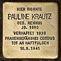 Stolperstein für Pauline Krautz (Cottbus).jpg