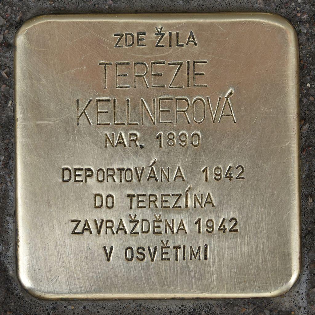 Stolperstein für Terezie Kellnerova.JPG