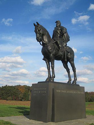 Joseph Pollia - Stonewall Jackson Monument (1938-40), Manassas, Virginia.