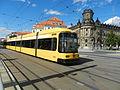 Straßenbahn Dresden, Pirnaischer Platz, 2701 (hinten).JPG