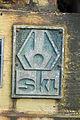 Stralsund, Nautineum, Motor, Detail Schild SKL (2013-07-30), by Klugschnacker in Wikipedia.JPG