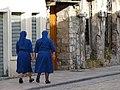 Street Scene with Nuns - Shkodra - Albania (42587886371).jpg