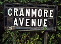 Street sign, Cranmore Avenue - geograph.org.uk - 1119520.jpg