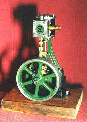 Stuart Turner (engineer) - Stuart Turner No.10 V, built from castings. A typical beginner's project