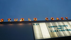 AgeHa - The sign board out in front of Studio Coast (2007)