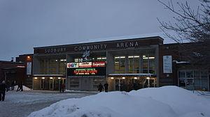 Sudbury Community Arena - Image: Sudbury Community Arena Exterior