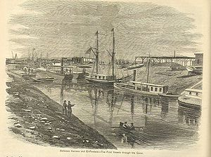 1867 in science - February 17: Suez Canal in use.