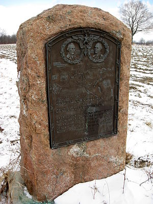 Sullivan Expedition - Commemorative plaque of the Sullivan Expedition in Lodi, New York