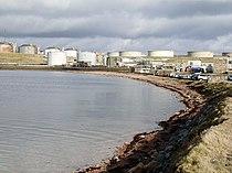 Sullom Voe Oil Terminal, Shetland - geograph.org.uk - 145000.jpg