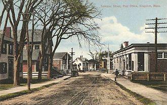 Kingston, Massachusetts - Summer Street in 1906